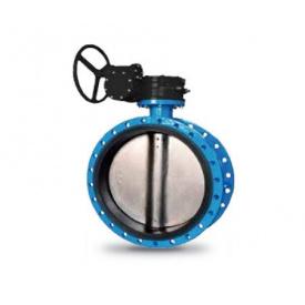 Затвор дисковый поворотный баттерфляй диск - н/ж сталь Ду400 Ру16 фланцевый Серия 23А СМО (Испания)