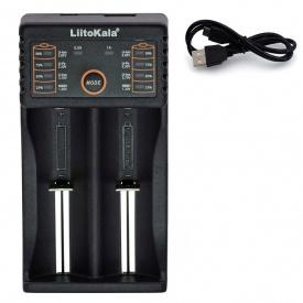 Зарядний пристрій для акумуляторів Liitokala Lii-202 18650 АА/ААА