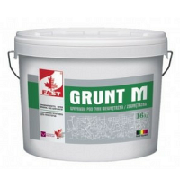 FAST Грунт-М грунтовка с колотым кварцевым песком, 14 кг
