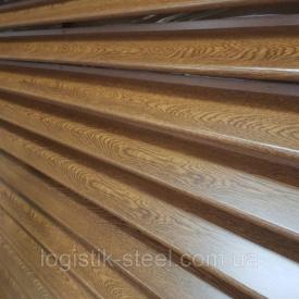 Забор жалюзи Standart 60/100 мм двухслойное покрытие