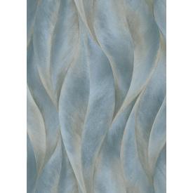 Виниловые обои на флизелиновой основе Erismann Fashion for Walls 2 12092-44 Синий-Золотистый
