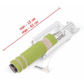 Селфи-монопод UFT SS8 Compact со шнуром green