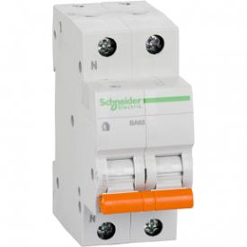 Автоматичний вимикач ВА63 1П+Н 32A C 4,5 кА