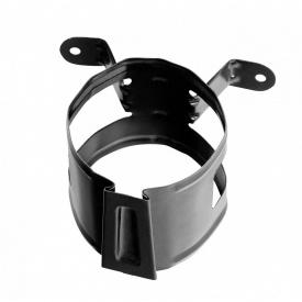 Хомут водосточной трубы Bilka 90 мм черный (RAL 9005)