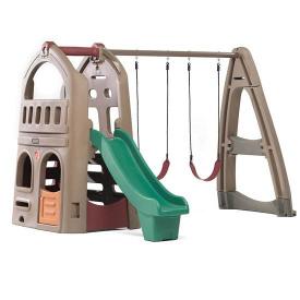 Детский игровой комплекс Step 2 PLAYHOUSE CLIMBER & SWING EXTENSION