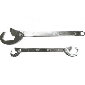 Набір ключів Top Tools шарнірний 8-19 мм для круглих шліцьових гайок (35D251) 2 шт