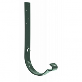 Крюк желоба Bilka 125/90 мм 160 мм зеленый RAL 6020