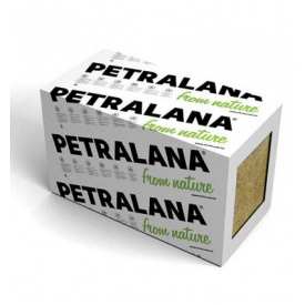 Утеплитель Petralana PETRAFAS-M для тяжелых фасадов 110 кг/м3 1000х600х100 мм