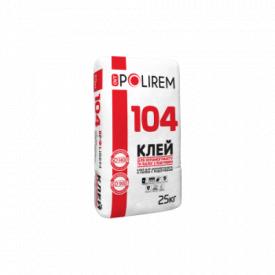 Клей для керамогранита и полов с подогревом Polirem 104 25кг