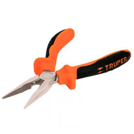 Довгогубці TRUPER T203-6X Профі прямі діелектричні Cr-V 150 мм