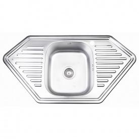 Кухонная мойка Lidz 9550-D 0,8 мм Decor (LIDZ9550DEC08)