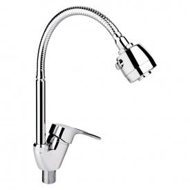 Смеситель для кухни Lidz (CRM) 44 80 008F-4 с рефлекторным изливом