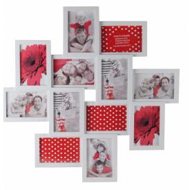 Мультирамка для фото Angel Gifts 12 в 1 біла (BIN-1122546)