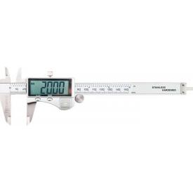 Штангенциркуль цифровий TOPEX великий індикатор 150 мм (31C624)