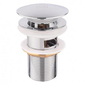 Донный клапан для раковины Lidz (CRM) 47 00 003 00 с переливом