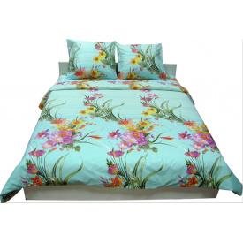 Комплект постельного белья Руно бязь 20-1123 Light blue евро