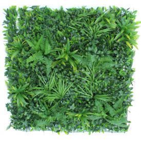Декоративное зеленое покрытие Engard Фитостена 100x100 см GCK-10