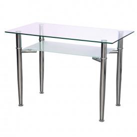 Стол AMF KSD-019T стекло металл 1100x600x750 мм