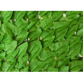 Декоративное зеленое покрытие Engard Листья 100x200 см