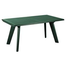 Стол пластиковый Allibert Dante зеленый