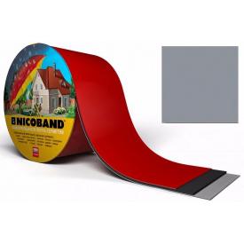 Самоклеюча стрічка Nicoband 10м 7,5 см сіра