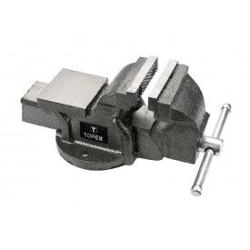 Тиски Topex слесарные 125 мм