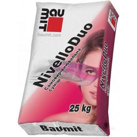 Самовыравнивающийся смесь Baumit Nivello Duo 2-20 мм