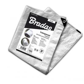 Тент прозорий армований Bradas LENO CRISTAL 100 гр/м2 6x8 м PLC1006/8