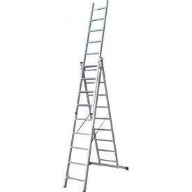 Лестница 3-х секционная раскладная ELKOP VHR T 3x9