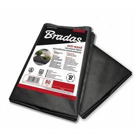 Агроволокно Bradas чорне 1х10м 80г/м2 (AWB8010010)
