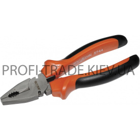40-021 Плоскогубці з комб ручкою 180 мм PREMIUM