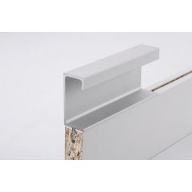 Меблева ручка профільна врізна Н 3 для ДСП 18 мм 5,95 м алюміній