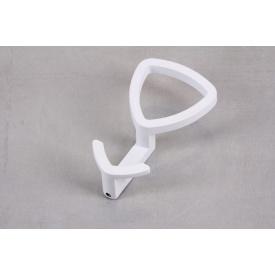 Крючок мебельный Falso Stile КК-19 двойной белый