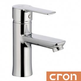 Смеситель для умывальника Cron Enzo (Chr-001), водяной тракт - латунь