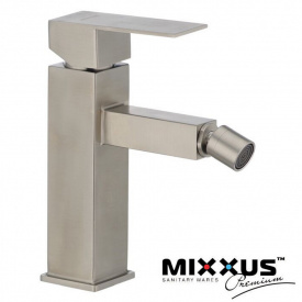 Смеситель для биде MIXXUS KUB (Chr-002), Польша (нержавеющая сталь)