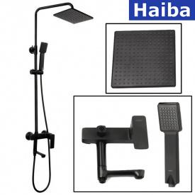 Душевая колонна HAIBA Kubus 003-J Black