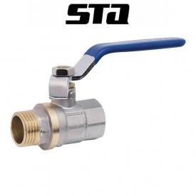 STA Кран 3/4 ГШР гайка-штуцер ручка вода
