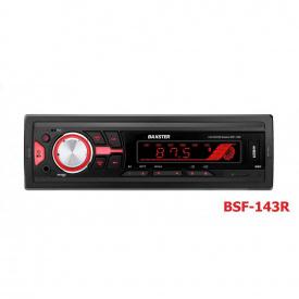 Магнитола BAXSTER BSF-143 red (без диска)