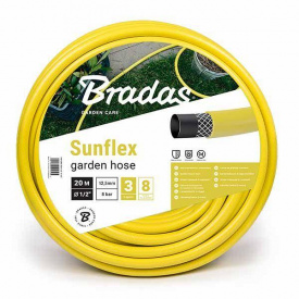"""Шланг для полива SUNFLEX 3/4 """"- 25м Bradas Польша желтый WMS3/425"""