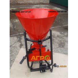 Разбрасыватель удобрений для мотоблока/мототрактора 100 л (АМ)
