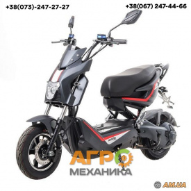 Электроскутер Maxxter Gang, 1000Вт (чёрно-серый)