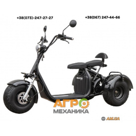 Электроскутер Maxxter Trike, 1000Вт (чёрный)