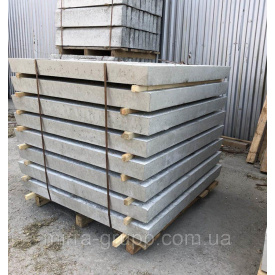 Еко-плита дорожня армована 8К.8 F200 1000х1000х80 мм сіра