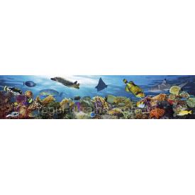 Панно ПВХ Регул Подводный мир 0,6х645х2832 мм