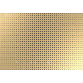 Панель ПВХ Регул Мозаика Золотой ажур 0,6х642х896мм