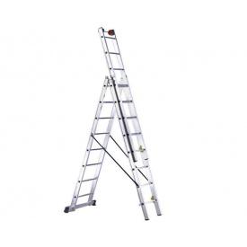 Трисекційні сходи SVELT EURO E3 6