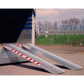 Погрузочная рампа SVELT 4,0 м 2800 кг без края