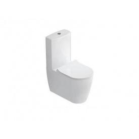 Унітаз-компакт Idevit Alfa з сидінням SC, білий SETK3104-0316-001-1-6200