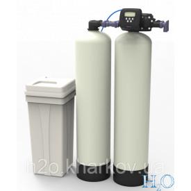 Установка пом'якшення води безперервної дії Nerex DSF1865-CV-Twin