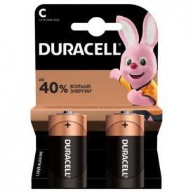 Батарейки DURACELL С/ LR14 / MN1400 KPN 02х10 упаковка по 2 штуки
